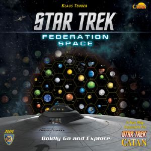 Star Trek Catan : Federation Space Map Set